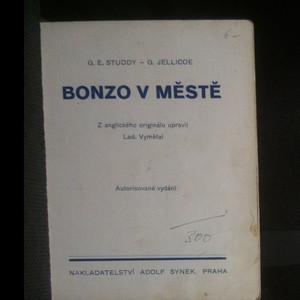 antikvární kniha Bonzo ve městě, neuveden