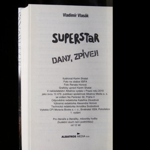 antikvární kniha Superstar : Dany, zpívej!, 2010