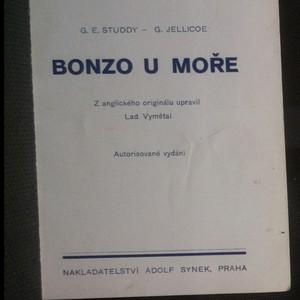 antikvární kniha Bonzo u moře, neuveden