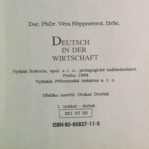 antikvární kniha Deutsch in der Wirtschaft, 1994
