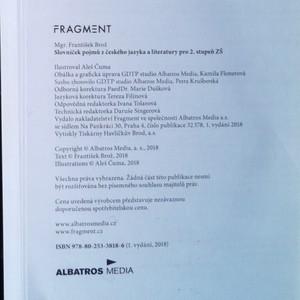 antikvární kniha Slovníček pojmů z českého jazyka a literatury pro 2. stupeň ZŠ, 2018