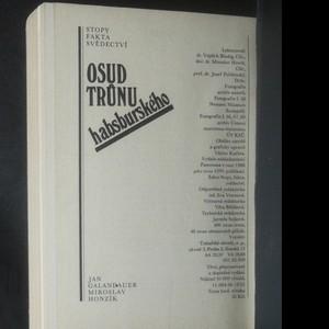 antikvární kniha Osud trůnu habsburského, 1986