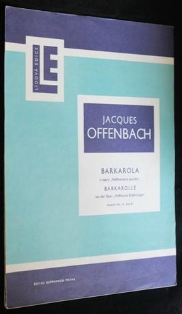 náhled knihy - Barkarola : z opery Hoffmannovy povídky : piano 2 ms