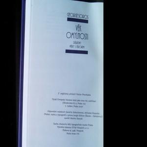 antikvární kniha Věk omylnosti : důsledky války s terorem, 2007