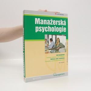 náhled knihy - Manažerská psychologie