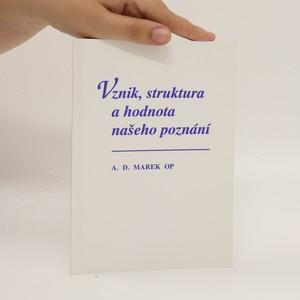 náhled knihy - Vznik, struktura a hodnota našeho poznání