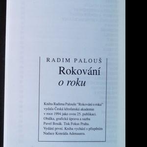 antikvární kniha Rokování o roku, 1994