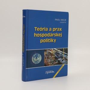 náhled knihy - Teória a prax hospodárskej politiky