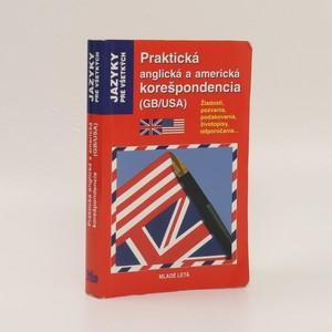 náhled knihy - Praktická anglická a americká korešpondencia