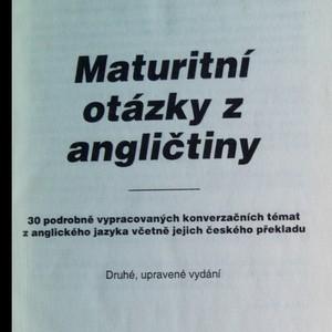 antikvární kniha Maturitní otázky z angličtiny, 1996