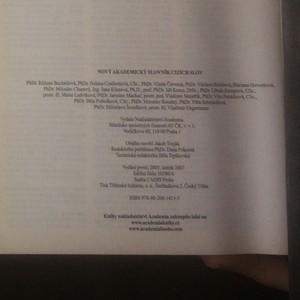 antikvární kniha Nový akademický slovník cizích slov A-Ž. Studentské vydání, 2006