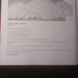 antikvární kniha Slovenský štát v obrazech, 2008