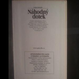 antikvární kniha Náhodný dotek, 2006