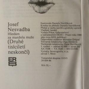 antikvární kniha Hledám za manžela muže (druhé tisíciletí nekončí), 1986