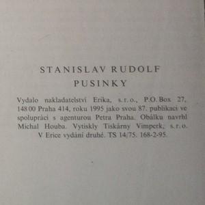 antikvární kniha Pusinky, 1995