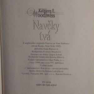 antikvární kniha Navěky tvá, 1999