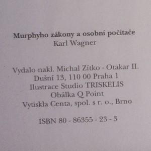 antikvární kniha Murphyho zákony a osobní počítače, 2000