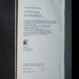 antikvární kniha Tetovaná konkubína, 2003