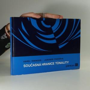 náhled knihy - Současná hranice tonality