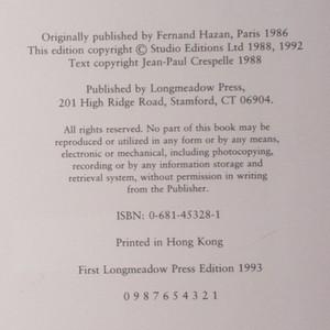antikvární kniha Monet (anglicky), 1993
