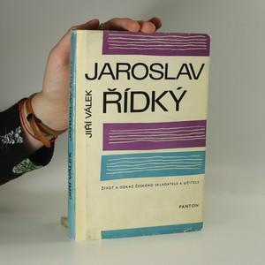 náhled knihy - Jaroslav Řídký