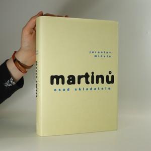 náhled knihy - Martinů - osud skladatele