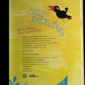 antikvární kniha Neberte nám ptáka Loskutáka, 2013