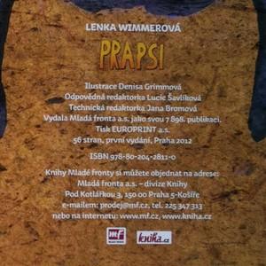 antikvární kniha Prapsi : jak přišli prapsi mezi lidi, 2012