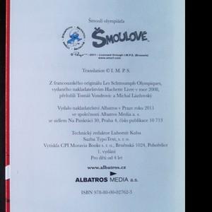 antikvární kniha Šmoulí olympiáda, 2011