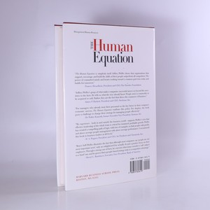 antikvární kniha The human equation : building profits by putting people first, 1998