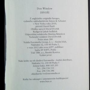 antikvární kniha Divoši, 2012