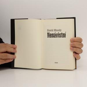 antikvární kniha Nenávistní, 2010