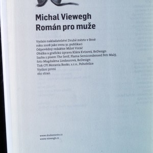 antikvární kniha Román pro muže, 2008