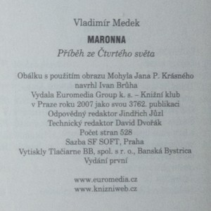 antikvární kniha Maronna. Příběh ze Čtvrtého světa., 2007