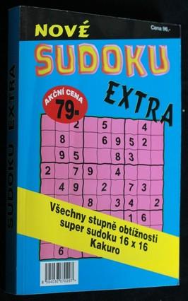 náhled knihy - Sudoku extra