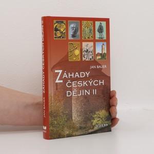 náhled knihy - Záhady českých dějin II.