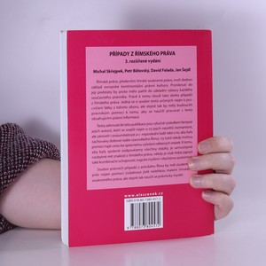antikvární kniha Případy z římského práva, 2013