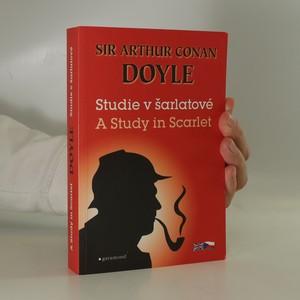 náhled knihy - A study in scarlet. Studie v šarlatové