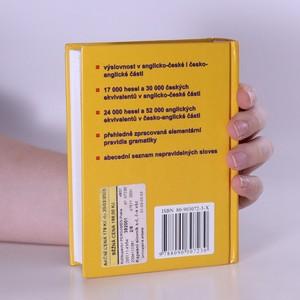 antikvární kniha Kapesní slovník anglicko-český, česko-anglický, 2004