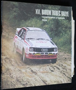 náhled knihy - Program XVI. Barum Třebíč rallye