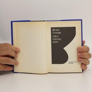 antikvární kniha Lekce tvůrčího psaní, 2005