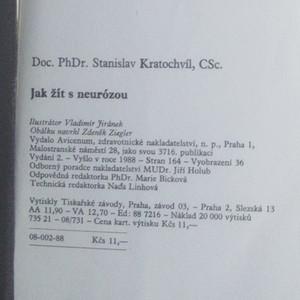 antikvární kniha Jak žít s neurózou, 1988