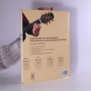 antikvární kniha Hrajeme na kytaru základy hry na rockovou, folkovou a klasickou kytaru, 2007