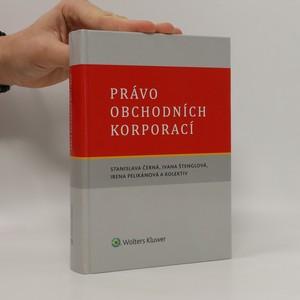 náhled knihy - Právo obchodních korporací