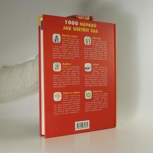 antikvární kniha 1000 nápadů jak ušetřit čas, 2007