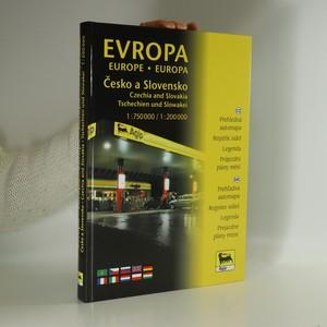 náhled knihy - Evropa Česko a Slovensko : autoatlas