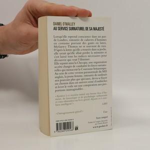 antikvární kniha Au Service Surnaturel de sa Majesté, neuveden
