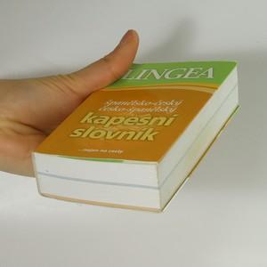 antikvární kniha Španělsko-český. Česko-španělský kapesní slovník, 2007