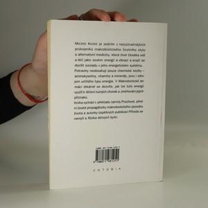 antikvární kniha Potraviny lék náš vezdejší : Makrobiotická domácí lékárna, 1996