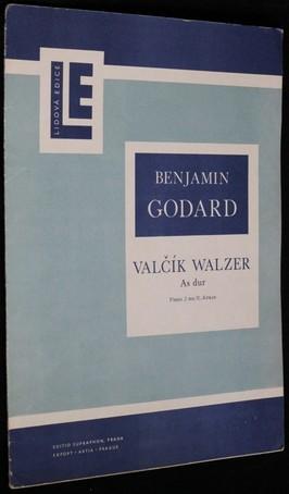 náhled knihy - Valčík As dur : piano 2 ms
